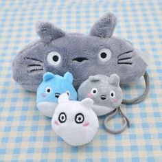 Amazon.com : Doll Stuffed Totoro Pencil Case Cotton Pen Holder Cute Stationery…