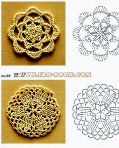 .lovely crochet from Tao-Book via Tecendo Artes em Crochet