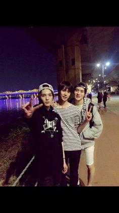 SMRookies!!!! Taeyong,Doyoung,Jaehyun ❤️
