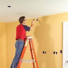 Fishing Electrical Wire Through Walls | Run electrical cable through walls and across ceilings without tearing them apart