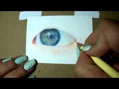 Colored Pencil Tutorial -- Eye