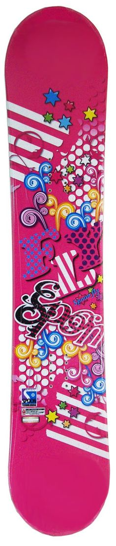 137cm Spoon Fly Pink Rocker Snowboard -- Awesome products selected by Anna Churchill