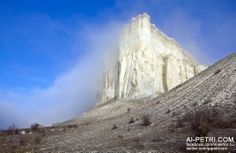 Белая Скала (Ак-Кая), Белогорье  - http://ai-petri.com/crimea-mountains/96-belaya-skala-ak-kaya-belogore.html