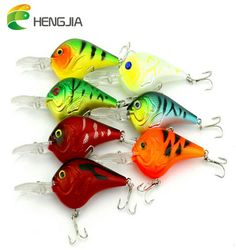 5 Pcs Crank Fishing Lures Baits Striped Bass 9.5cm//11.2g Crankbaits Lures Hooks
