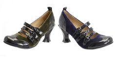 Fluevog Fall 2013 Baroque Ruben ( We will be getting these in only in navy!) so excited beautiful