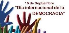 Día Internacional de la Democracia #biblioteques_UVEG