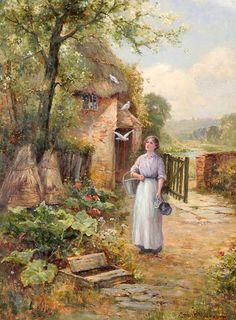 pintores ingleses de 1862 Ernest Walboum - Buscar con Google