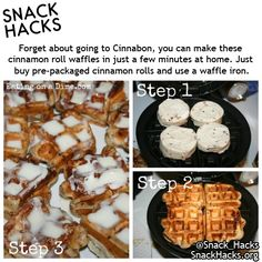Everything tastes better in waffle form hack