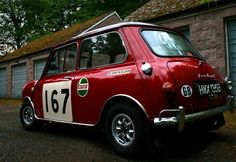Austin Mini Cooper S Rally by Fraser McF14, via Flickr