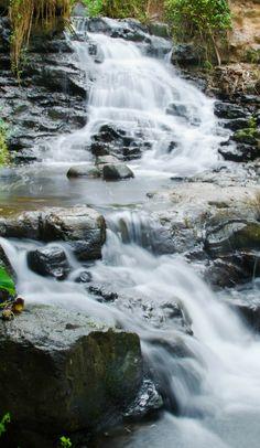 Waterfalls in Kauai, Hawaii