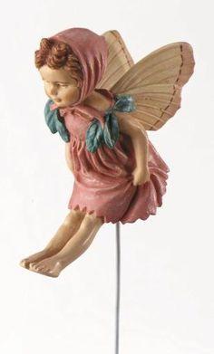 Fairy Gardens WA Australia | Miniature Fairies, Furniture, Accessories, Houses and More - My Little Fairy Garden - Red Clover Fairy