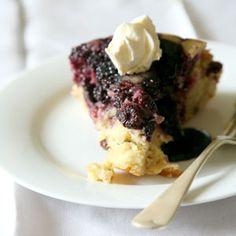 Blackberry and Apple Cake Recipe | SAVEUR