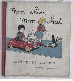Premières Images en tissu lavable,  collections numérisées dans Gallica, Fonds Heure Joyeuse (Paris)
