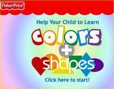 Jugando y aprendiendo juntos: Colores y figuras geométricas (colors and shapes) con Fisher-Price