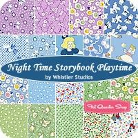 Night Time Storybook Playtime Fat Quarter Bundle<BR>Whistler Studios for Windham Fabrics