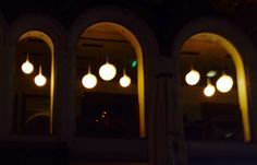 #Austria #vienna #center #night #november #shops #lights #ball #circle