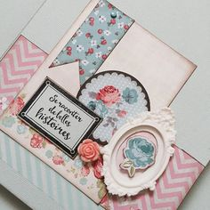Quasi fini !! Un petit mini que j'offrirai aux parents de Luna  #minialbum #scrapbooking #scrap #florilegesdesign #toga by patmiaou