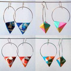 Pendientes Origami MIMINA