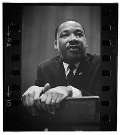 """I have decided to stick with love. Hate is too great a burden to bear.""     — Martin Luther King Jr.  Photo: Marion S. Trikosko, 1964."