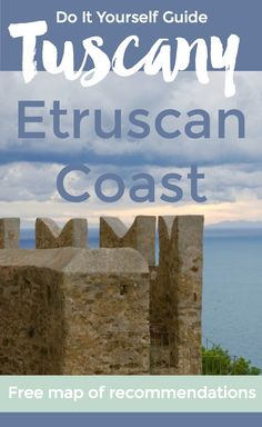 Off-the-beaten-path self-guided tour ideas for Etruscan Coast Tuscany trips #tuscany #italy #travel #trip