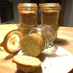 Recette – Cake en bocal au citron et aux graines de Chia