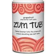 Grapefruit Zum Tub Bath Salts Bath Salts Bath Salt