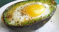 Eat This Protein-Packed Breakfast to Reduce Inflammation And Your Waistline - Healthy Food House Healthy Protein Breakfast, Nutritious Breakfast, Paleo Breakfast, Healthy Fats, Breakfast Recipes, Avocado Breakfast, Baked Avocado, Nutrition, How To Make Breakfast