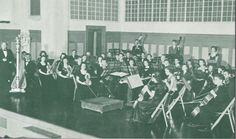 1942-43 University Symphonic Orchestra.  From the 1943 Oregana (University of Oregon yearbook).  www.CampusAttic.com