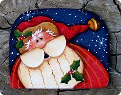 Jingle Thyme Santa Ornament