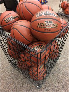 The Wilson® Basketballs may be big, but a merely moderate size Wilson Square Basketball Bulk Bin positions them mid aisle. Wilson Basketball, Close Up, Retail, Color, Black, Black People, Colour, Sleeve, Colors