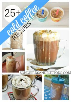 Cold Coffee Recipes >> Love coffee? here are 25+ ways to enjoy it COLD! #cold #coffee