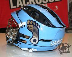 UNC Tarheels Premiering New HeadWrapz on Cascade CPX-R Lids @Cascade Lacrosse | ILGear.com