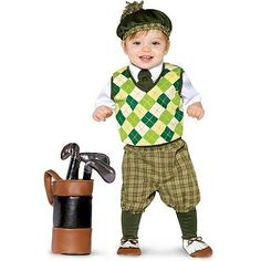 Future Golfer Costume - Baby