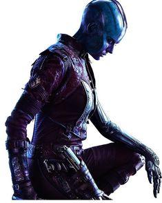 Karen Gillan - sexiest Cyborg ever ! Marvel Girls, Marvel Dc, Marvel Characters, Marvel Movies, Nebula Marvel, Black Widow Natasha, The Avengers, Rory Williams, Amy Pond