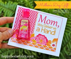 Cherish Everyday: 15 Quick Mother's Day Gifts
