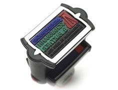 Engraving of multi-color rubber stamps| Trotec Laser Systems | Multi-Color Jet | Manufacture Rubber Stamps and Text Plates