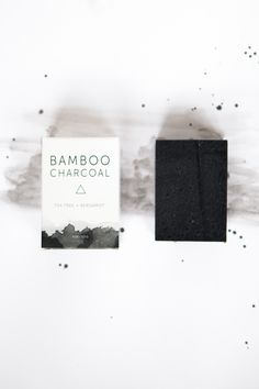 Herbivore Botanicals Bamboo Charcoal Cleansing Soap