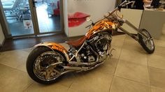 HARLEY DRAGON'S KING by MAN motorcycles
