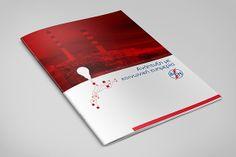 Brochure series PPC S.A. (DEH) by Marianna Smyrniotou, via Behance