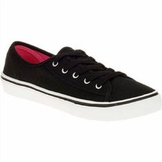 15.99$  Watch here - http://viyyq.justgood.pw/vig/item.php?t=ok0eyo53100 - Faded Glory Women's Low top Lace-up Sneaker, Black, 8 15.99$