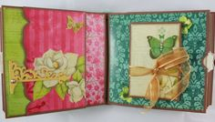 8x8 Magnolia Way Scrapbook Mini-Album PDF Tutorial by SoMuchScrap