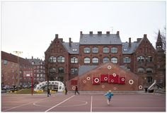 Guldberg Skole, JJW Architects, 2009. Nørrebro, Copenhague.