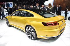 VW Sport Coupe Concept GTE: it's the new Passat CC by CAR Magazine
