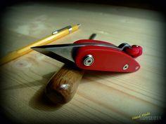 Folding Kiridashi Red Bob por EdcApparatus en Etsy