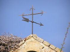 En la Espadaña de la iglesia de san Miguel del Esla.