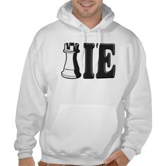 SOLD to Bradley in Billings, MT -- Thanx -- ROOKIE (Rook Chess Piece   ie) Hoodie