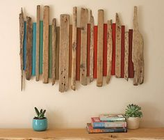 Wood Wall Art | Large Wall Art | Driftwood Art |Wood Sculpture | Abstract | Home…