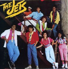 THE JETS Album with Curiosity, Crush On You, You Got It All, and Private Number (1985)