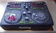 Dj Party, Disco Party, Party Time, Cakes For Men, Cakes And More, 60th Birthday Party, Birthday Cakes, Dj Cake, Dj Decks