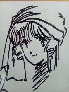 希少 マクロス ミンメイ 美樹本晴彦 サイン色紙 検 セル画 原画_画像1